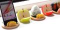 食品サンプルスタンド 日本の職人の技 美味しそうなグッズ 本物そっくり スマホ タブレット